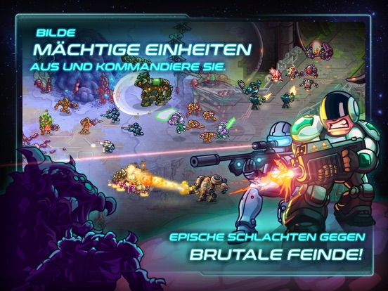 Iron Marines iOS Screenshots