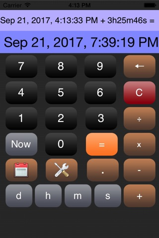 Time Calculator* screenshot 2