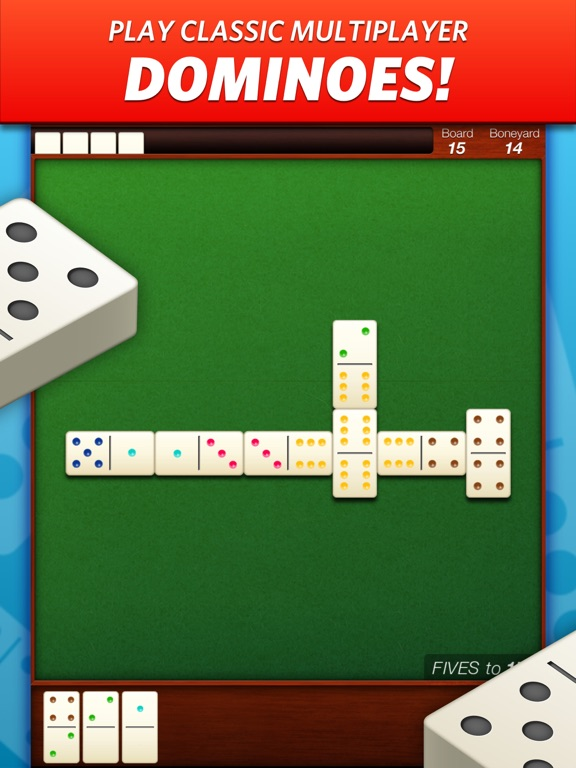 Domino! - Multiplayer Dominoes на iPad