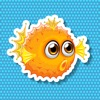 Animated Fish Stickers