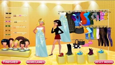 Glamours Model Dress UpСкриншоты 2