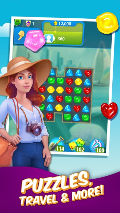 Gummy Drop! – A Match 3 Game screenshot 1