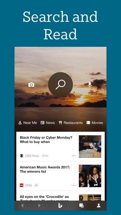 Screenshot 0 for Bing's iPhone app'