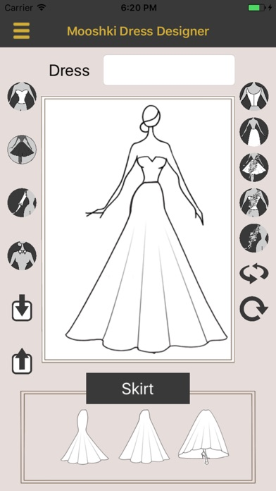 download Mooshki Wedding Dress Designer apps 3