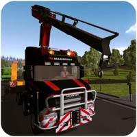 Heavy crane Construction Sim