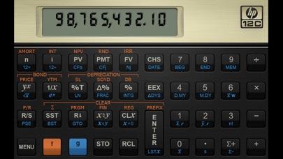 HP 12C Calculator Screenshot