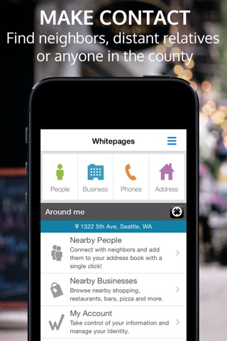 Whitepages screenshot 1