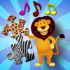 兒童動物拼圖-教育年輕孩子們遊戲
