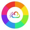 Regenbogen Wetter Widget