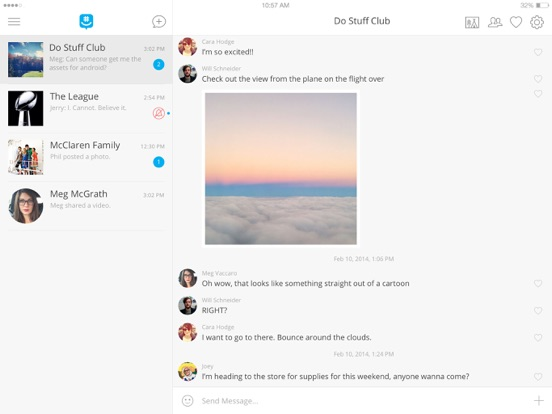how to delete groupme direct messages