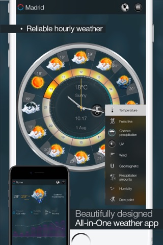 eWeather HD - Weather, Alerts and Satellite Radar screenshot 2