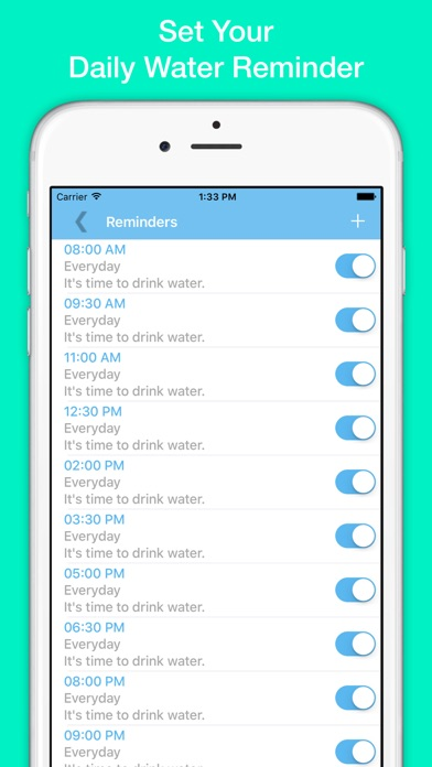 how to set daily reminders on iphone