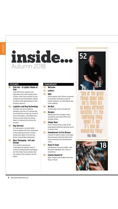 Beer Brewer Magazine review screenshots