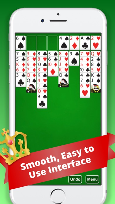 Screenshot von FreeCell Classic :)3