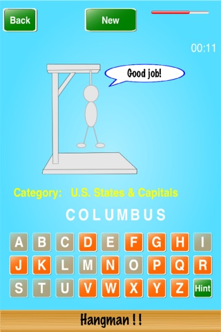 Hangman ! ! screenshot 4