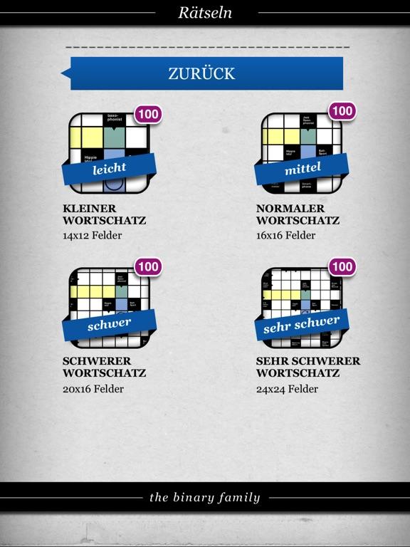 Kreuzworträtsel . Screenshots