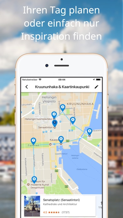 Google Trips – Reiseplaner Screenshot