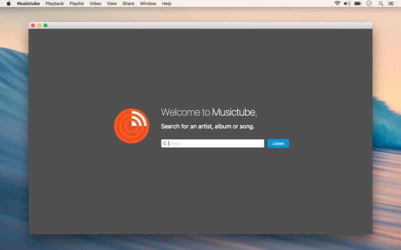 Musictube - Streaming Player Screenshots