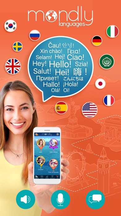 download Mondly: Learn 33 Languages appstore review
