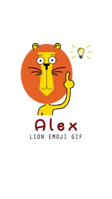 download Alex - Lion Emoji GIF apps 1