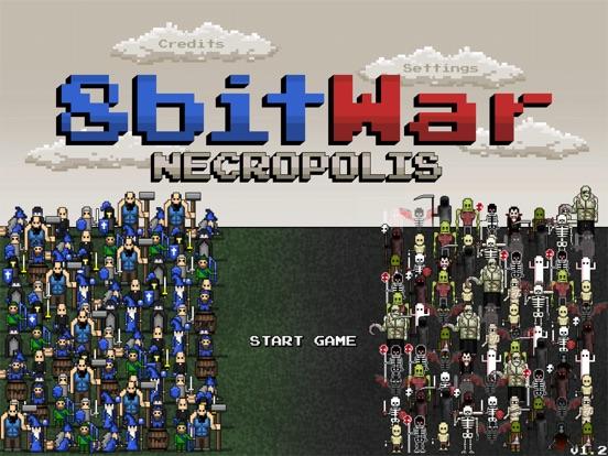 Screenshot #4 pour 8bitWar: Necropolis
