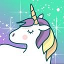 Uniquecorn - sags mit Glitter!