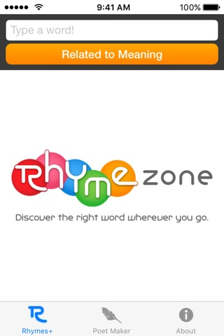 RhymeZone screenshot 4