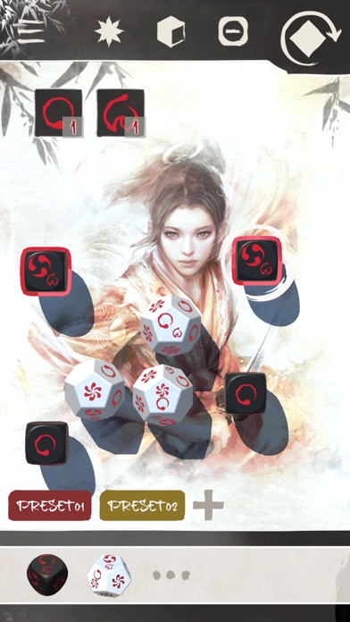 Legend of the Five Rings Dice Screenshot