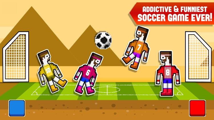 Soccer Ragdoll 2 Player Physics Games Screenshot 3
