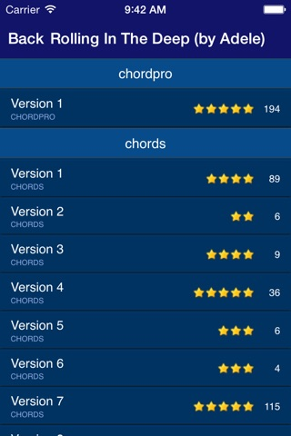 GuitarTapp PRO - Tabs & Chords screenshot 4