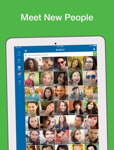 Skout - Meet, Chat, Go Live at App Store downloads and cost