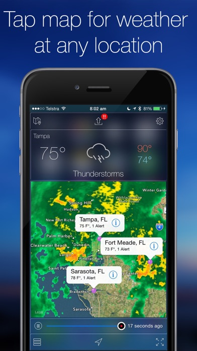 Weather Radar Map Live On The App Store - Us weather radar map