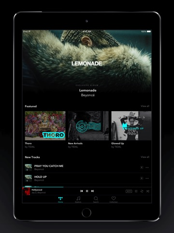 TIDAL screenshot 1