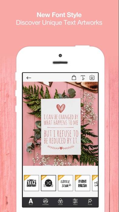 Typcas - Add Text on Photo 앱스토어 스크린샷