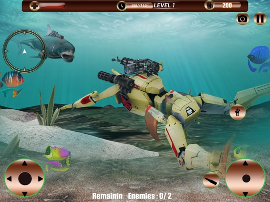 Angry Robot Shark Simulator screenshot 9