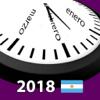 Calendario 2018 Argentina NoAd