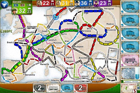 Ticket to Ride screenshot 2
