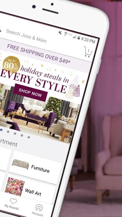 Joss main furniture decor app download android apk for Decor live beautiful app