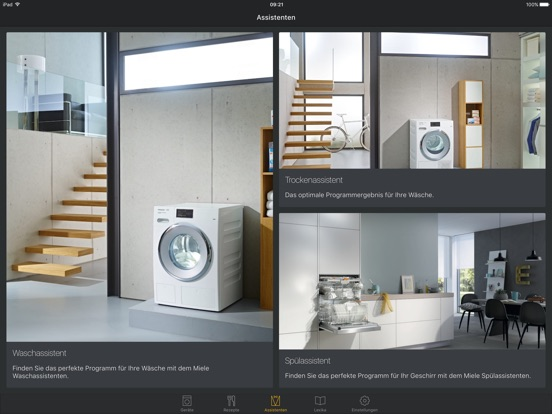 miele mobile im app store. Black Bedroom Furniture Sets. Home Design Ideas