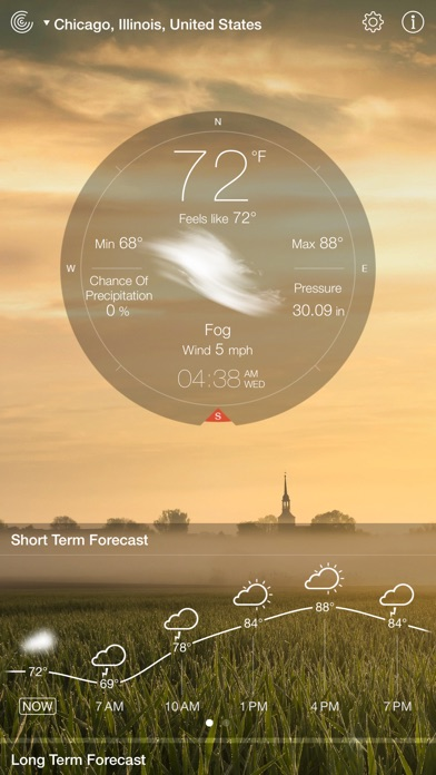 Screenshot #9 for Weather Live.