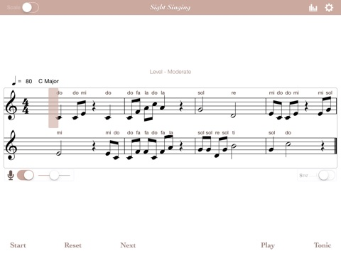 Sight Singing screenshot 2
