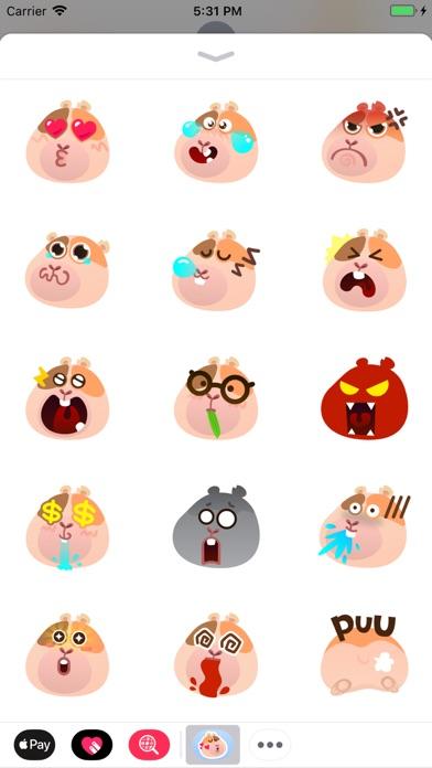 Cavia YoHo Stickers