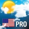 Прогноз погоды для США Pro
