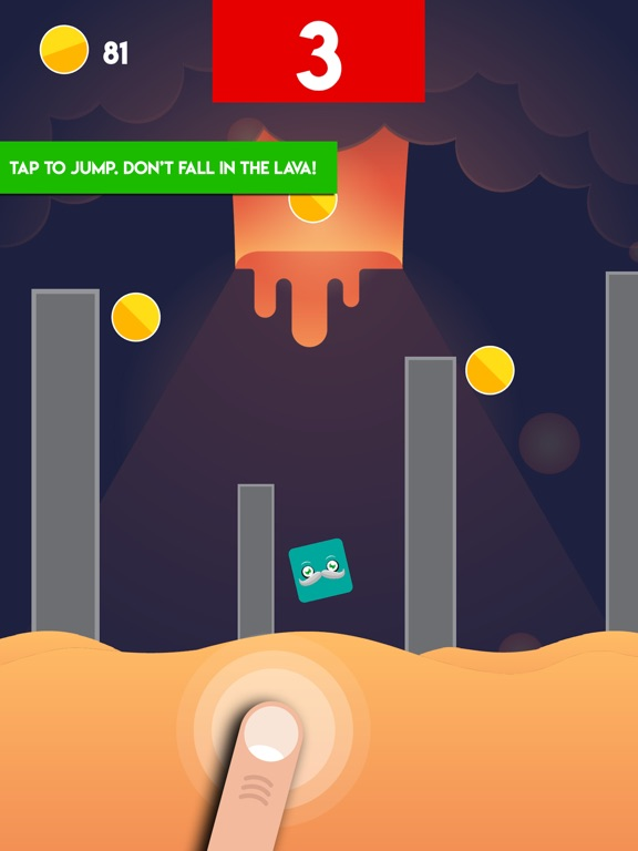 Lava Challenge - The Viral Floor Game Is For Real Screenshot