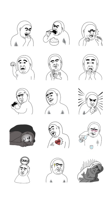 Mr.Dahan stickers 미스터 다한 스티커 Screenshot 3