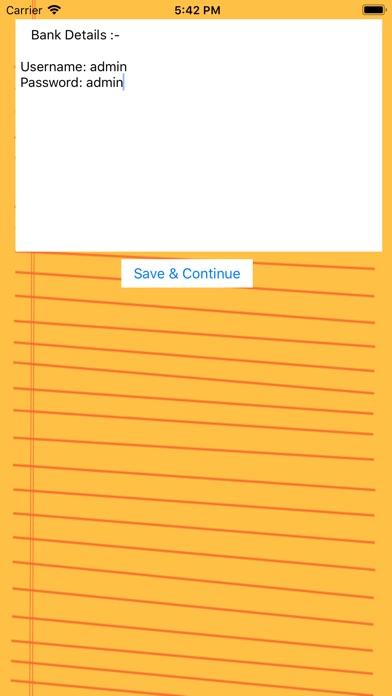 D3: Dot Lock Notes 3 Security Screenshots