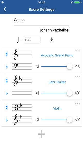 Notation Pad - 作曲家の楽譜作成ツールスクリーンショット