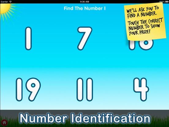 Number Quiz Lite - Tantrumapps Скриншоты9