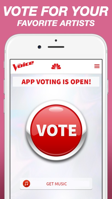 download The Voice Official App on NBC apps 4