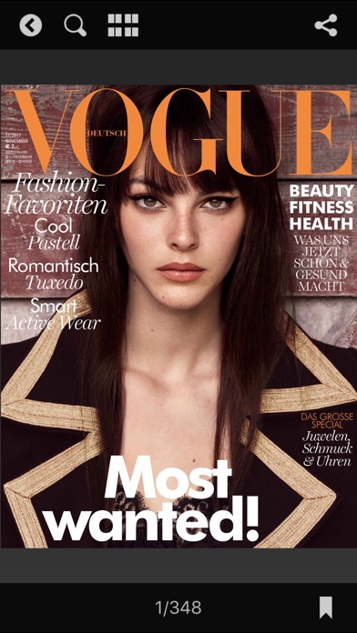 Vogue Magazin (d) review screenshots